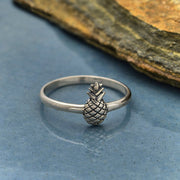 Sterling Silver Pineapple Ring - Poppies Beads n' More