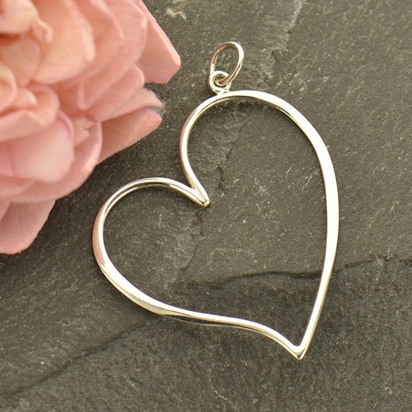 Whimsical Heart Earrings