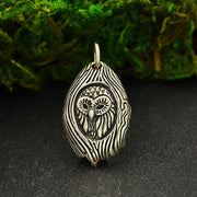 Sterling Silver Owl in a Tree Charm - Poppies Beads n' More