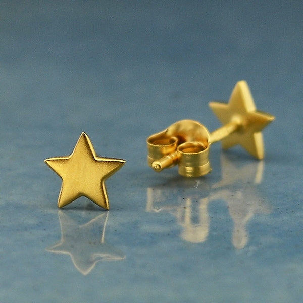Star Post Earrings,