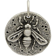 Ancient Coin Charm - Bee