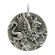 Ancient Coin Charm - Griffin