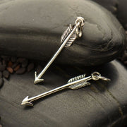 Sterling Silver Arrow Charm - Poppies Beads n' More