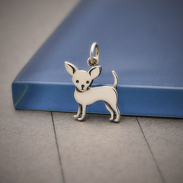 Sterling Silver Chihuahua Dog Charm, Nina Designs
