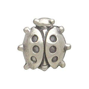Sterling Silver Lady Bug Charm Embellishment