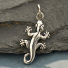 Sterling Silver Gecko Charm - Poppies Beads n' More