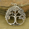 Sterling Silver Leafy Tree of Life - Poppies Beads n' More