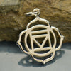 Sterling Silver Root Chakra Charm - Poppies Beads n' More