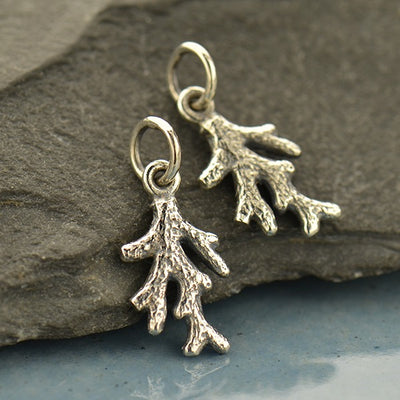 Coral Branch Charm