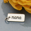 Sterling Silver Word Charm - Nana - Poppies Beads n' More