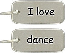 Sterling Silver Dance Charms - Poppies Beads n' More