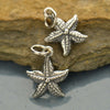 Sterling Silver Starfish Charm - Poppies Beads n' More
