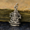 Sterling Silver Ganesh Charm - Poppies Beads n' More