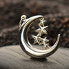 Sterling Silver Moon & Stars Charm - Poppies Beads n' More