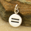 Sterling Silver Equality Sign Charm - Poppies Beads n' More