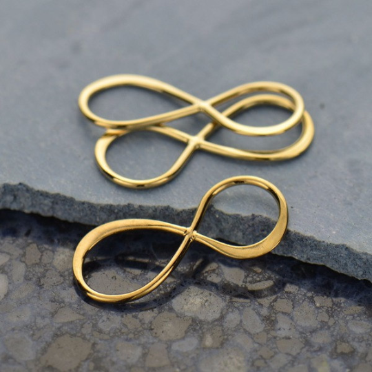 Sterling Silver Infinity Link - Poppies Beads n' More