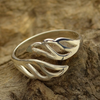 Adjustable Sterling Silver Wing Ring - Poppies Beads n' More