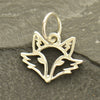 Sterling Silver Fox Charm - Poppies Beads n' More