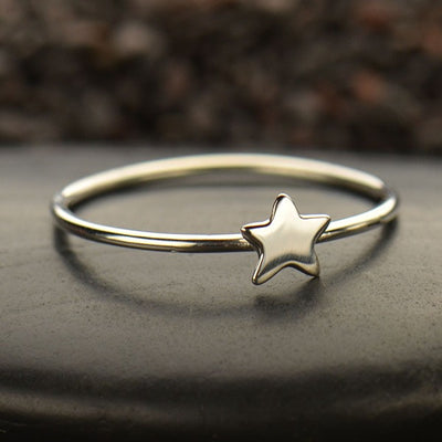 Tiny Star Ring - Poppies Beads n' More