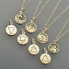 Elemental Charm Necklaces - Earth, Air, Water and Fire - Poppies Beads n' More