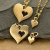 Hearts- Mother Daughter Charm Set,