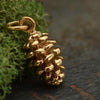 Bronze Pinecone Charm - Poppies Beads n' More