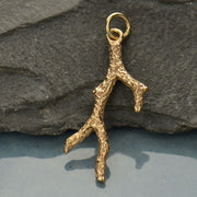 Coral Branch Charm,