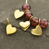 Tiny Heart Dangle Charm,