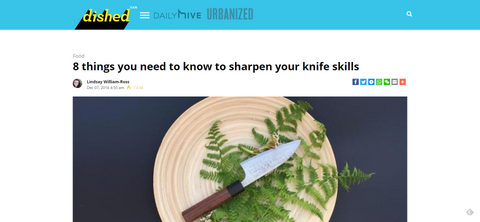 MEDIA | dished VAN - 8 things you need to know to sharpen your knife skills