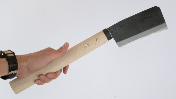 Ajikataya Azuma Hatchet 135mm Oak Handle (Double Bevel)