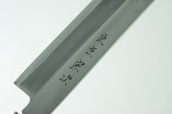 Morihei Munetsugu Stainless Left-Handed Yanagiba 270mm Poplar Handle (Fine Finish)