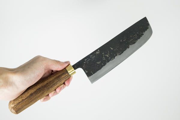 Daitoku Kurouchi Nakiri 165mm Walnut Handle