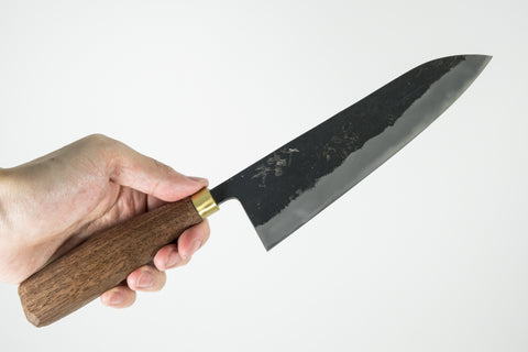 Daitoku Kurouchi Santoku 165mm Walnut Handle