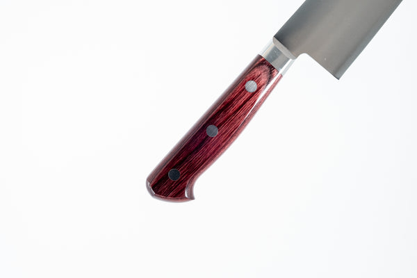 Hitohira TP Yo-Santoku 170mm Wine Pakka Handle