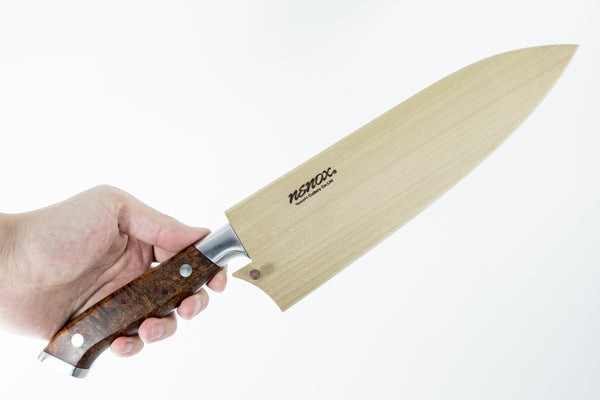 Nenox Custom IW Yo-Deba 195mm Ironwood Handle