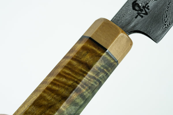 Lynn Valley Forge Custom Shape Slicer 300mm Australian Mountain Ash Handle