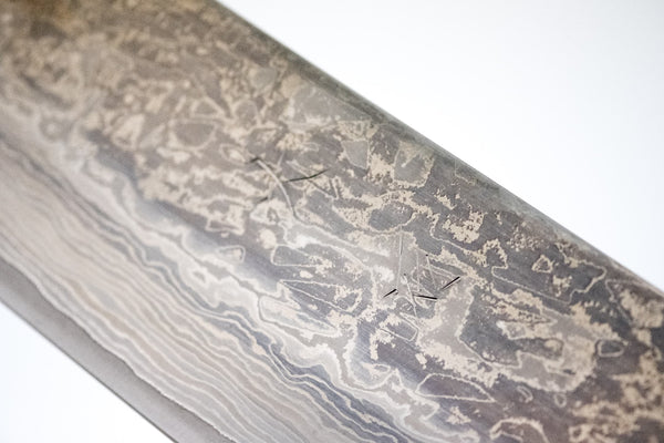 Ohishi SKD-11 Damascus Yo-Gyuto 240mm Pakka Handle