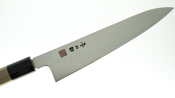 Nenohi Stainless Wa-Gyuto 210mm Magnolia Handle