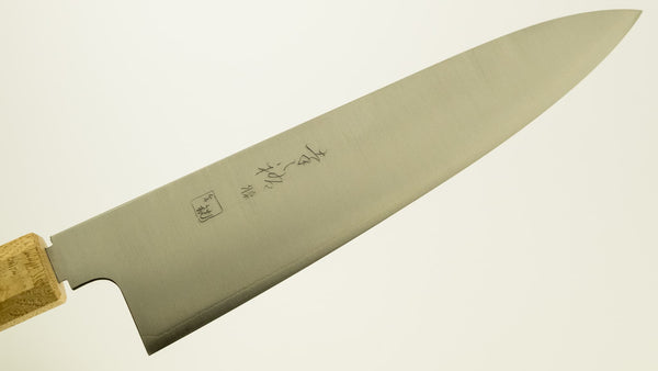 Konosuke GS+ Wa-Gyuto 210mm Khii Chestnut Handle