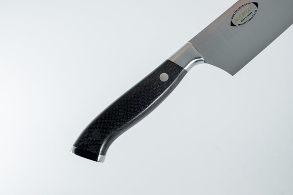 Nenox Custom CF Yo-Gyuto 240mm Carbon Fiber Handle