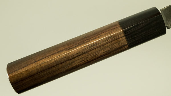 Kitaoka Blue #2 Kurouchi Wa-Usuba 210mm Rosewood Handle
