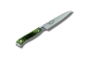 Nenox Custom GB Paring 100mm Green Bone Handle