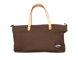Hi-Condition Hanpu Canvas Knife Bag Extra Large Brown