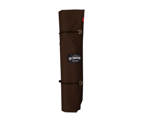 Hi-Condition Hanpu Canvas Knife Roll Brown