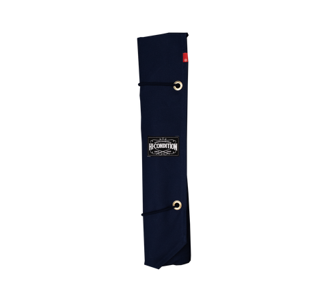 Hi-Condition Hanpu Canvas Knife Roll Navy