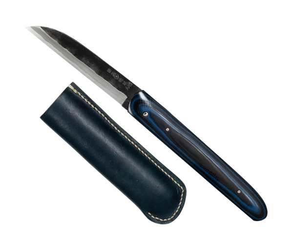 Takeda NAS Folding Knife Linen Micarta Handle