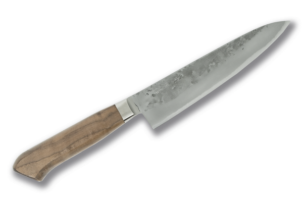 Tadafusa Blue #2 Stainless Clad Gyuto 180mm Walnut Handle