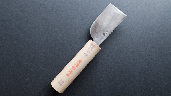 Morihei Kunihide White #2 Leather Working knife 39mm (Square)