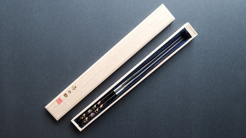 Nenohi Wa-Moribashi Chef's Chopsticks 180mm Hand Lacquered