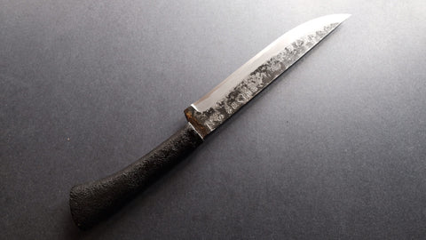 Takeda AS Hunting Fixed Blade Steel Handle